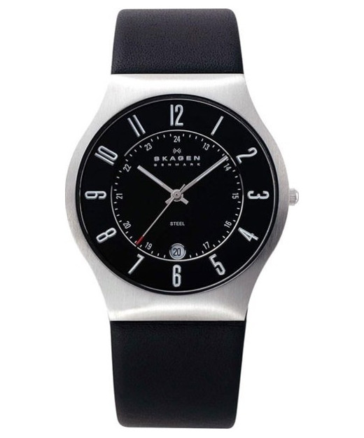 Skagen Grenen Leather Watch 233XXLSLB