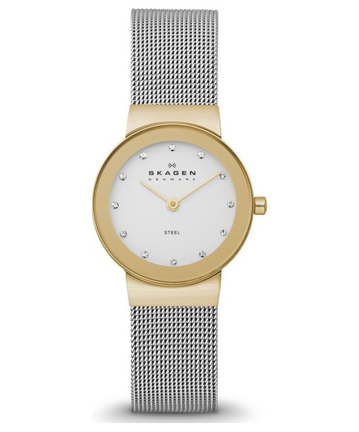 Skagen Freja Steel Mesh Watch 358SGSCDP