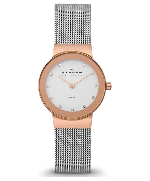 Skagen Freja Steel Mesh Watch 358SRSCP